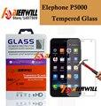 Aierwill - Elephone P5000 vidrio templado 100% oficial pantalla Original Film 9 H dureza para Elephone + envío gratuito