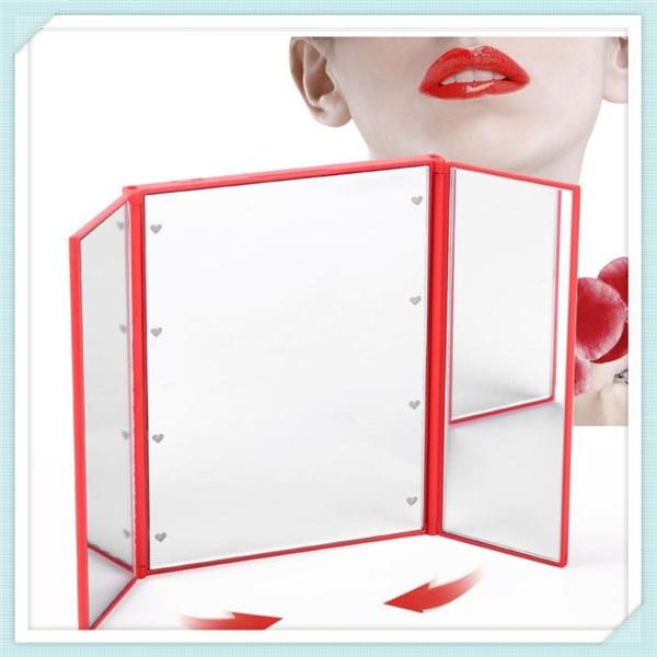 Geleid verlichte moderne kaptafel spiegels/vierkante led desktop ...