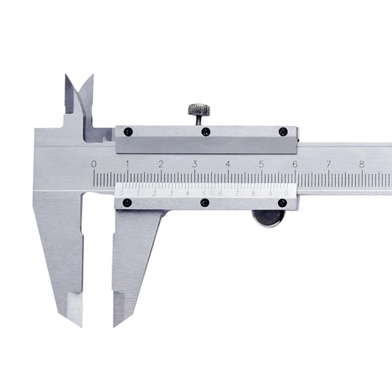 """Strumento di misurazione micrometrica in metallo a 4 vie calibro a corsoio da 6 """"0-150 mm / 0,02"""