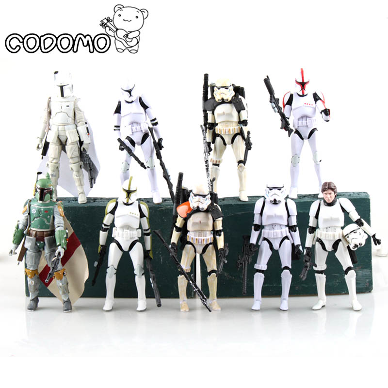 13 colors Plastic Star War Action Figures Minifigure Game Vinyl Desk Toys Darth Vader Storm Trooper Christmas Birthday Gift Toy 20pcs 1lot petshop cartoon pet shop patrulla canina toys action figure toy 778 minifigure christmas gift to kids