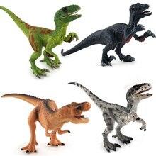 Jurassic World Dinosaur Figures Plastic Toys Model Action Figures Mandible Moveable Gifts #E