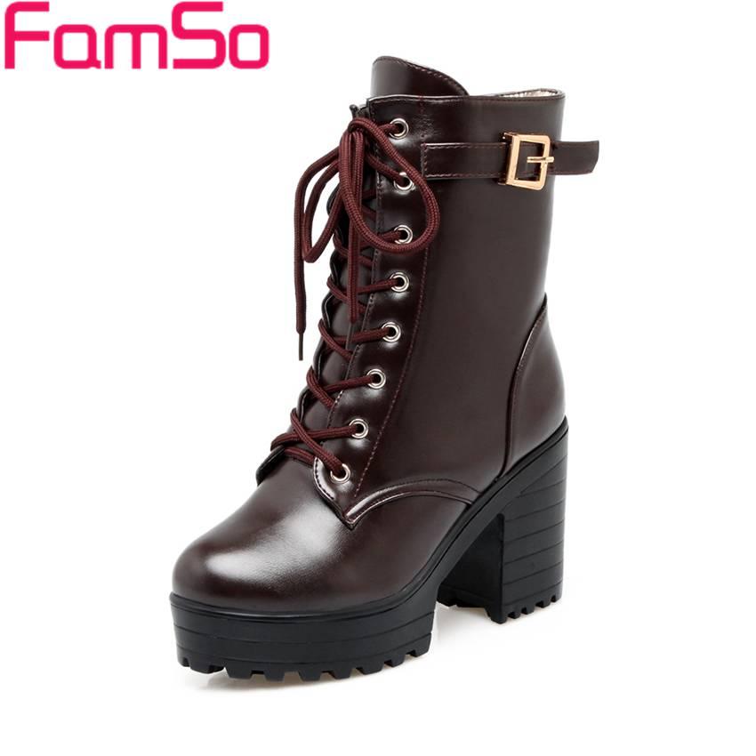 Free shipping 2016 New Classics font b Women b font Boots Black High Heels Ankle Boots