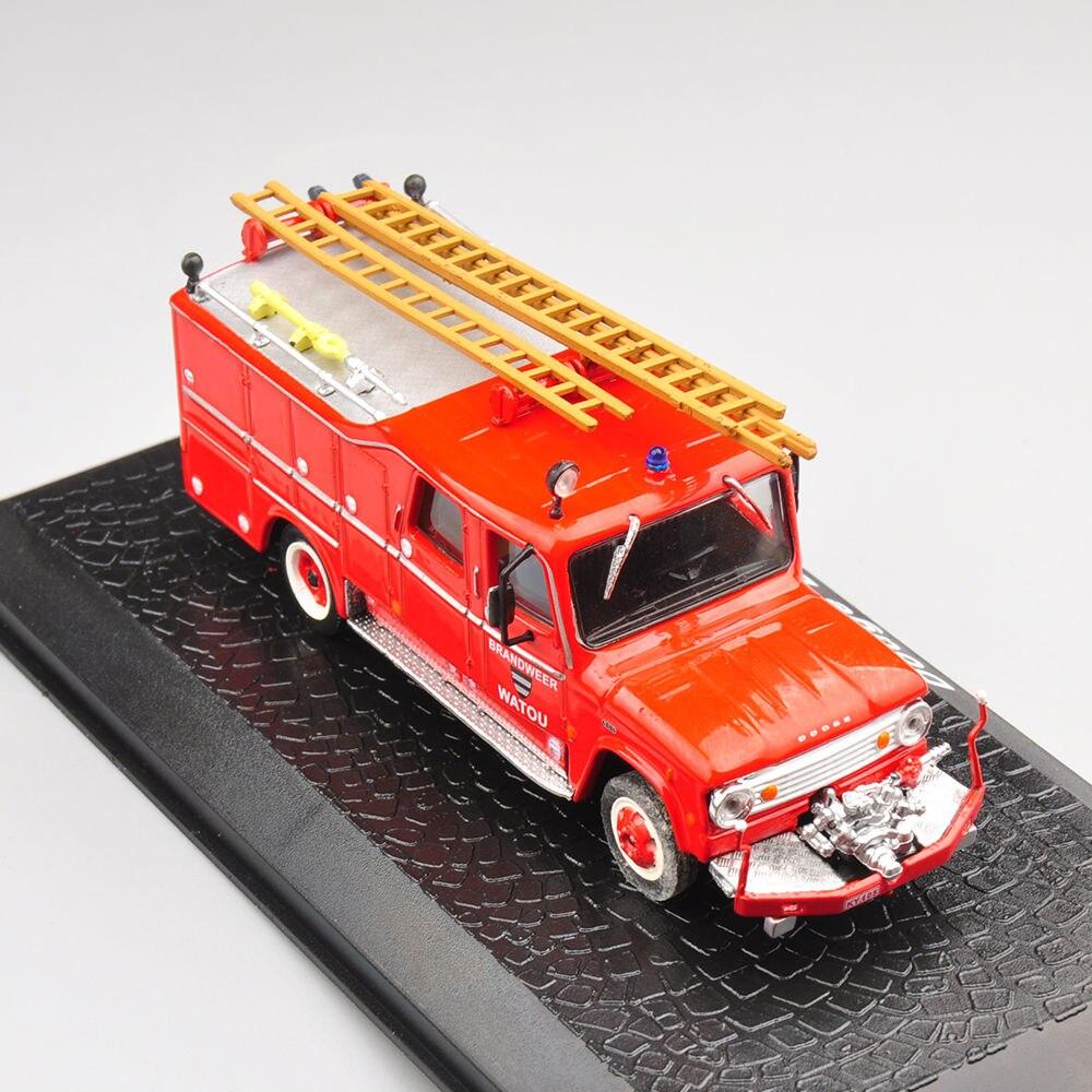 Aleación Diecast Modelo de Juguete Del Coche Camión de Bomberos Altas 1/72 Escal