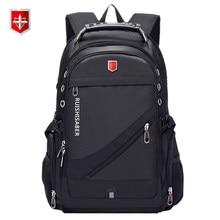 fc7d6dab4 Oxford szwajcarski 17 Cal laptopa plecak mężczyźni USB ładowania  wodoodporne podróży plecak kobiet plecak męski plecak szkolny w.