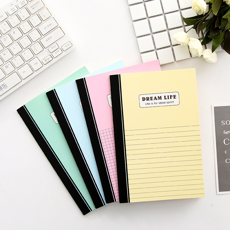 DL Han creative stationery student coils notebook DIY