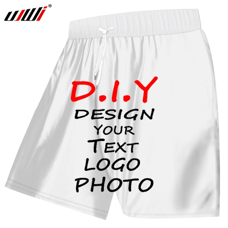 2019 Your Own Design Brand Logo/Picture/character DIY Any Color Custom Shorts Men And Women Shorts Plus 5XL Size Men Clothing