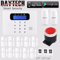 Беспроводной Wi Fi охранной сигнализации дома безопасности Системы ЖК дисплей сенсорная клавиатура синхронизации автоматический рука/сняти
