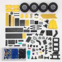 O amortecedor maioria do pino das peças da técnica engrenagens dos conectores do eixo da cremalheira pneus do caminhão compatíveis com brinquedos acessórios da técnica