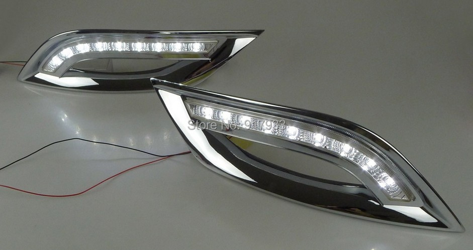 1set special for Hyundai Sonata G8 (8th) LED DRL LED Daytime Running Light with 9 LED chips highlight free shipping 5.4W massimiliano castelli the new economics of sovereign wealth funds