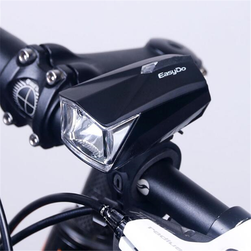 Easydo Bicycle Headlight USB Rechargeable Bike Handlebar LED Lamp Cycling Front Lantern Flashlight STVZO light control Edison cycling bike bicycle handlebar tape belt wrap w bar plug yellow camouflage 2 pcs