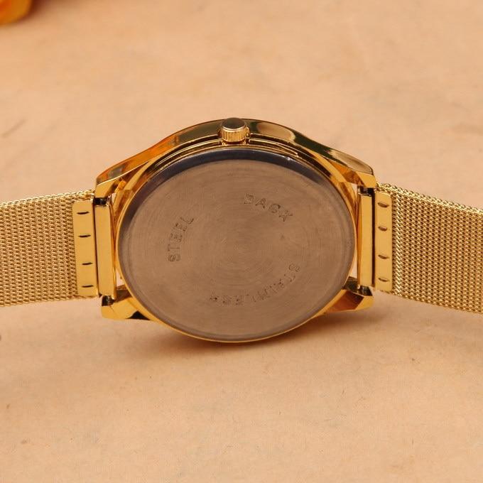 f813ca088ee Noble Geneva Dress Watch Gold Relogio Feminino Clock Simple Vogue Womens  Ladies Analog Quartz Wristwatch Best Christmas Gift-in Women s Watches from  Watches ...