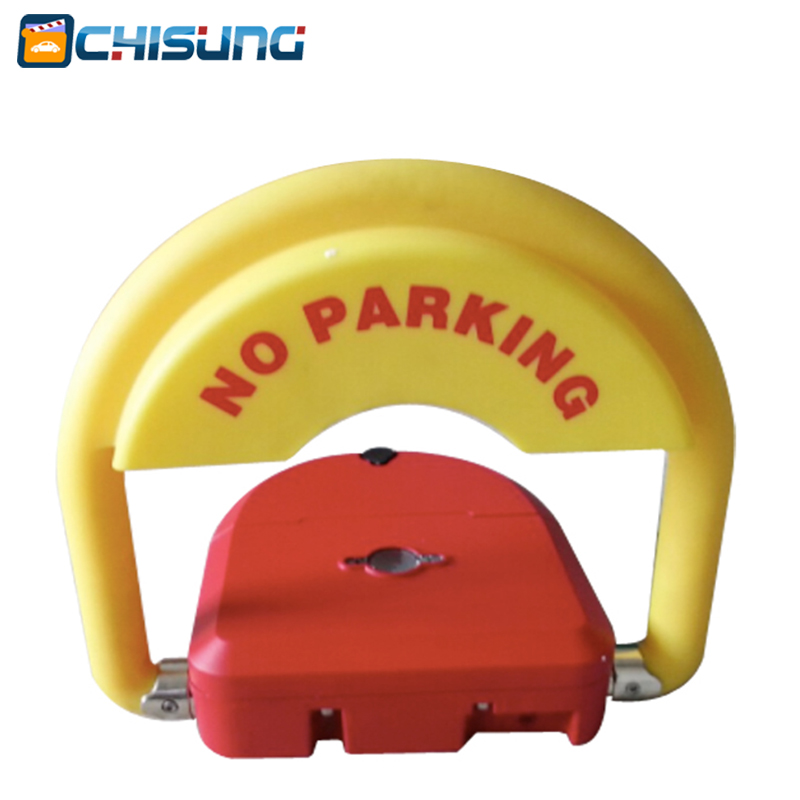 High quality Intelligent car parking lock /remote parking barrier with IP68 waterproof function half ring shape of the block machine parking barrier lock