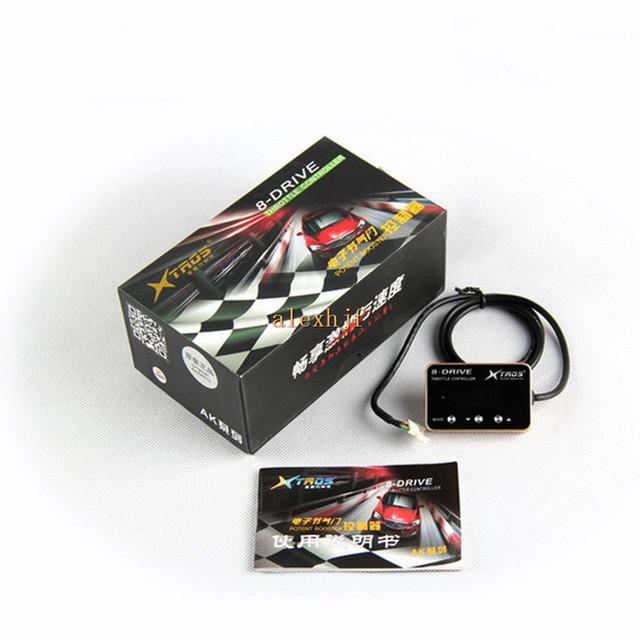 TROS Booster Potent sexta 8-Drive Controlador Electrónico de Aceleración AK-808 caso para Kia Agria, K2, cómodas/Deportes/Racing modo