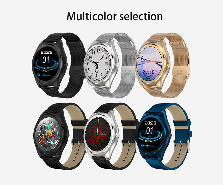 COLMI N3 Pro 1.3 inch Smart Watch MTK2502 HD Slim Bluetooth Call Media Heart Rate Monitor Fitness Tracker Pedometer Smartwatch 17