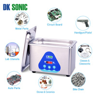 DK SONIC 800ml 42Khz Digital Ultrasonic Cleaning Machine Ultrasonic Nail Cleaner for Watch Chains Gold Coins Tattoo Dental