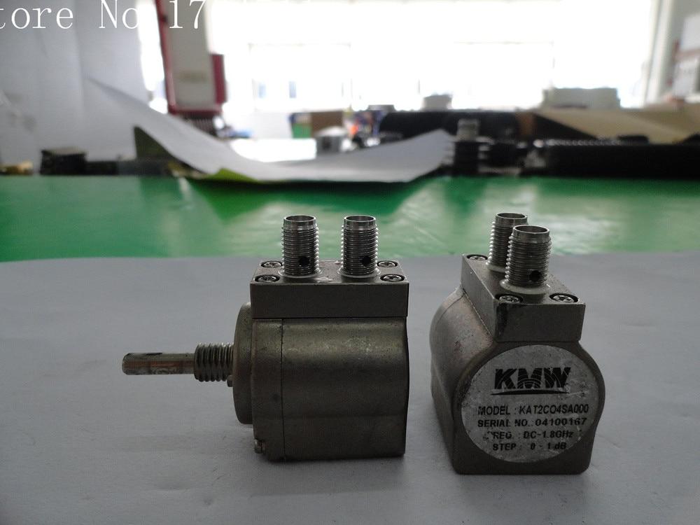 [BELLA] KMW KAT2C04SA000 10dB DC-1.8GHz Adjustable Step Attenuator SMA  --2PCS/LOT