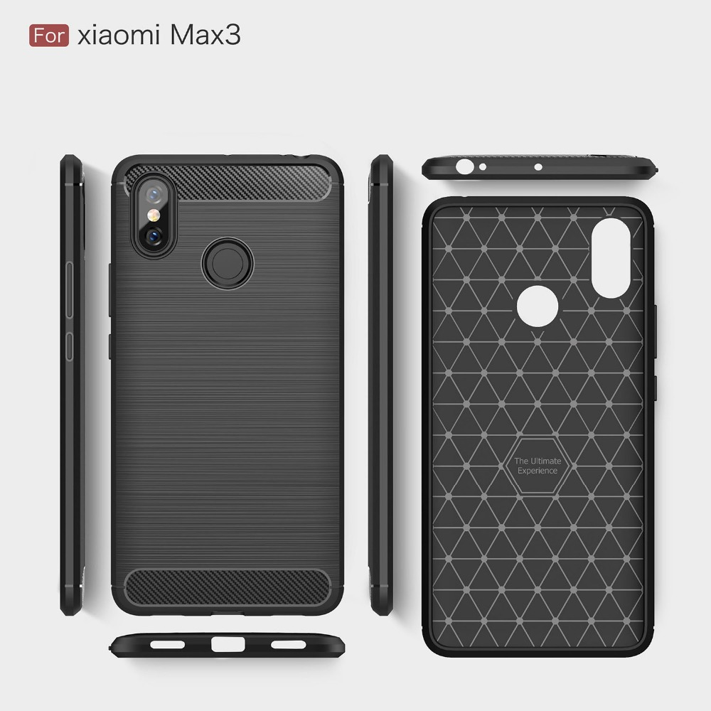 ASTUBIA Case For Xiomi Xiaomi <font><b>Mi</b></font> Max 3 Case Carbon Fiber Cover For Xiaom <font><b>mi</b></font> Max 2 Case For <font><b>Xaomi</b></font> <font><b>Mi</b></font> <font><b>Max2</b></font> Max3 Max Mix 2S Fundas image