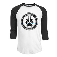 My Kids Have Paws shirts 3/4 Sleeve Plain Raglan personalized Sportshirt young men