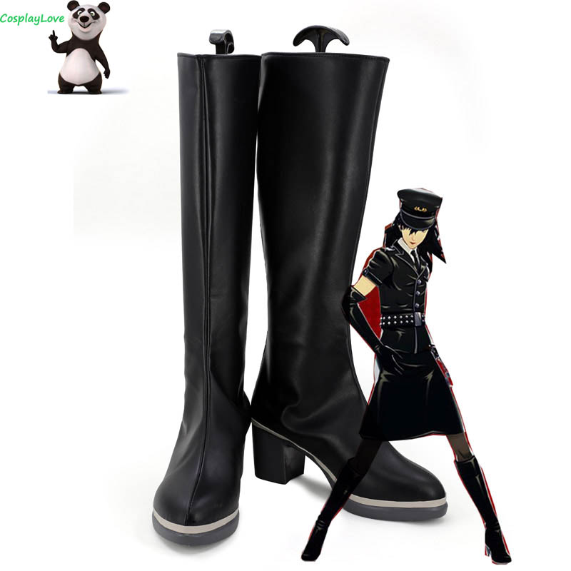 Persona 5 Dancing Star Night Joker Protagonist Akira Kurusu Ren Amamiya Female Punishment Cosplay Shoes Long Boots Cosplaylove Shoes Aliexpress