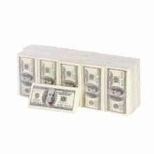 10 упаковок, креативная бумага для салфеток, 100 долларов, необработанная древесная целлюлоза, тканевый платок для лица, гигиеническая бумага, одноразовая посуда для вечеринок