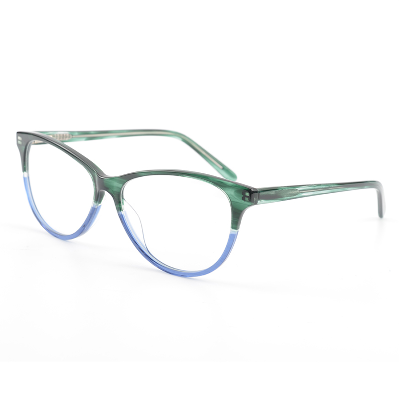 Frauen Stilvolle Marke Designer Acetat Optische Gläser Rahmen Cat ...