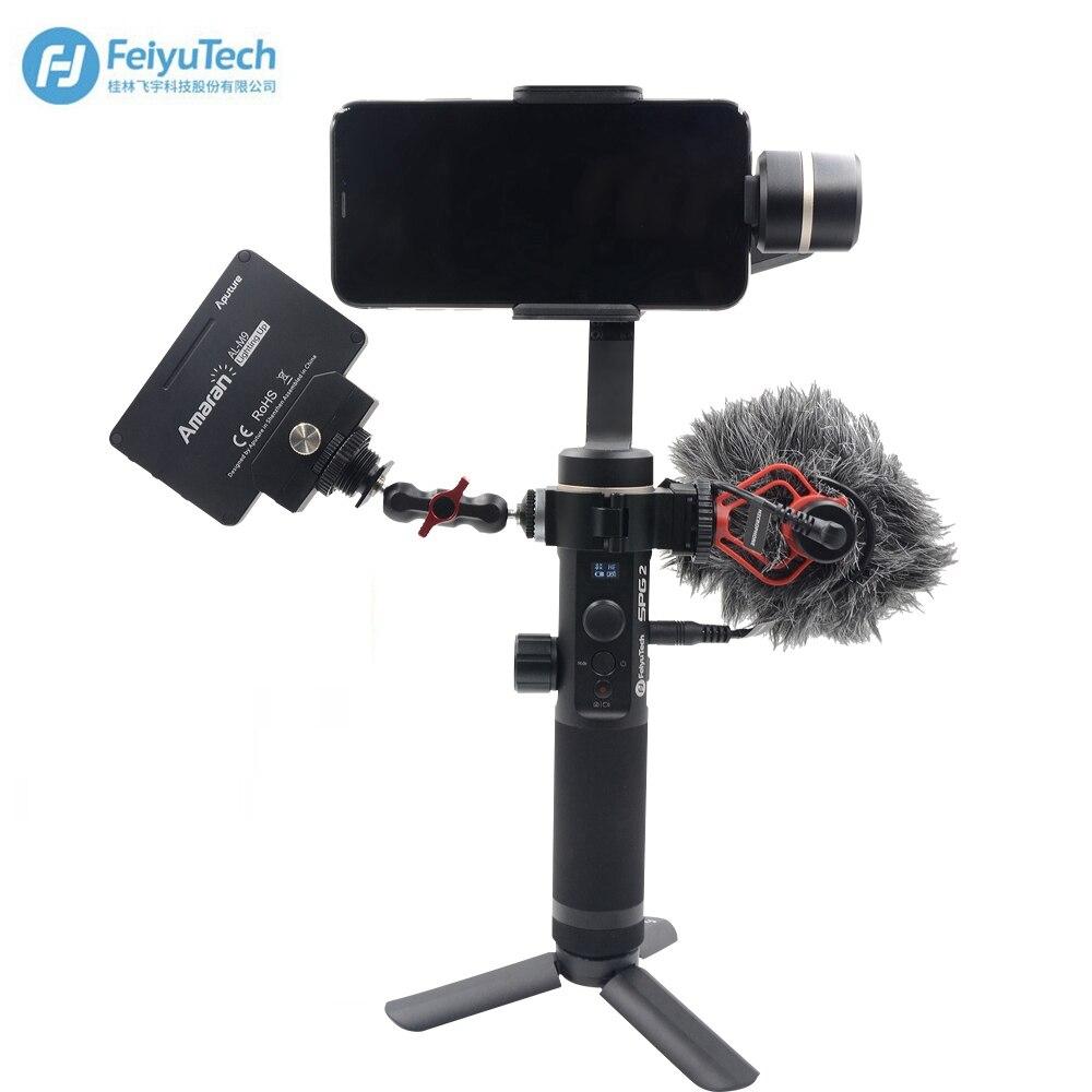 Feiyu Spg 2 3 Axis Handheld Waterproof Gimbal Stabilizer For Iphone Steady Smartphones Xs 8plus Samsung