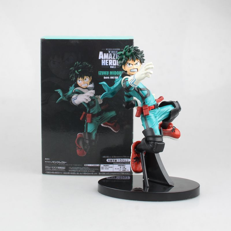 NEW hot 17cm My Hero Academia Midoriya Izuku Combat move Action figure toys doll with box
