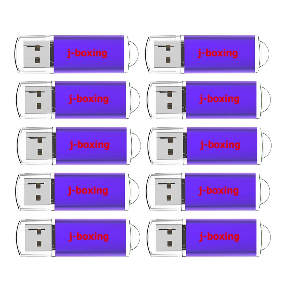 Image 3 - J boxing 10PCS USB Flash Drive 512MB 256MB 128MB 64MB Small Capacity Memory Stick Jump Drive Pen Drives for Desktop Multi colors-in USB Flash Drives from Computer & Office
