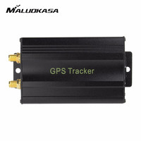 GPS Tracker Car Cut Off Oil GPS Tracker Locator Realtime Vehicle Tracking Device Crawler Retainer GSM Voice Monitor Shock Alarm