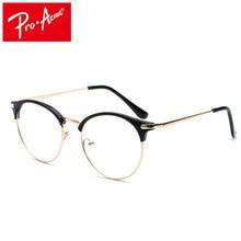 ee6695a3e Pro Acme Mulheres Gato Retro Olho Óculos de Armação Óptica da Prescrição  Quadros de Óculos de Lente Transparente lentes opticos .