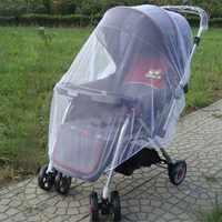En plein air bébé infantile enfants poussette poussette moustiquaire moustiquaire maille Buggy couverture bébé chariot accessoires chaud bébé sécurité