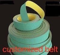 (Можно настроить ремень) нейлон чип база текстильный плоский ленточный конвейер Трансмиссия синхронизации ремень
