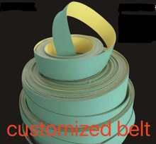 (can customized belt )  Nylon Chip Base Band Textile Flat Belt Conveyor Transmission Timing Belt цены
