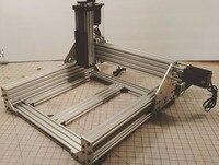 C-beam kyo sphinx cnc roteador fresagem construir conjunto v2 kit diy trabalho com nema 23 motor de passo