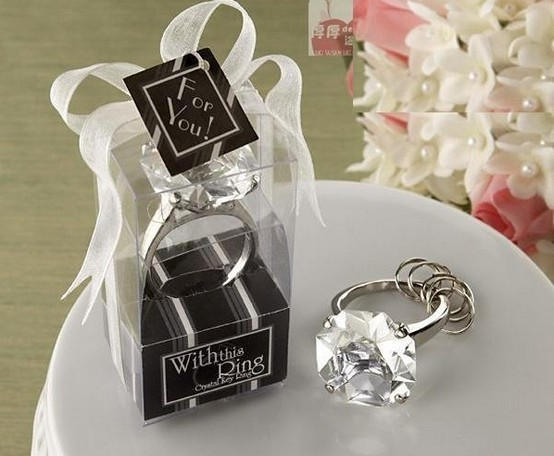 hot seller crystal keyring,jewel keyrings,Valentines Gift wedding gift 100pcs/lot free shipping