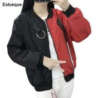 Бомбер куртки новинки для женщин для Базовая куртка модная ветровка верхняя одежда женский Бейсбол Пальто