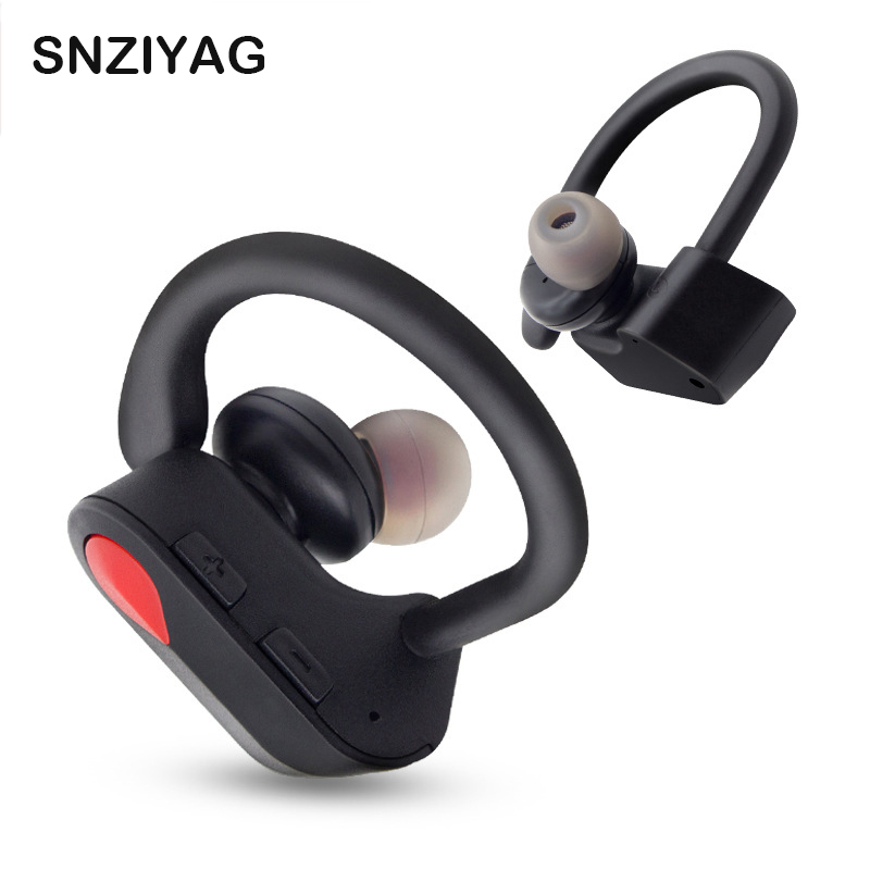 SNZIYAG I9S TWS Wireless Binaural Bluetooth Earphone Ear-hook headphones Sports Bluetooth Headset With mic For All Smart phone