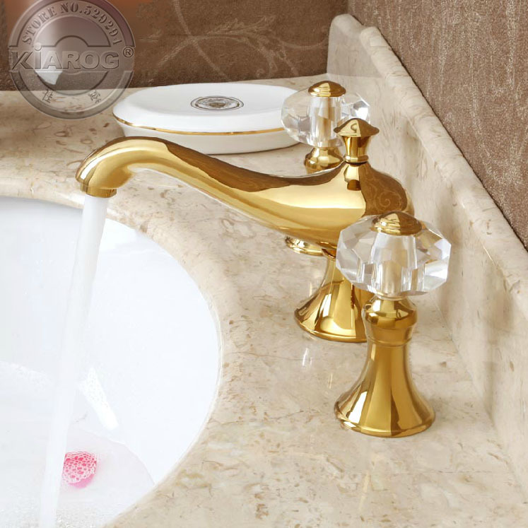 Bathroom Faucets With Crystal Handles popular double bathroom basin-buy cheap double bathroom basin lots