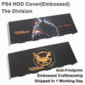 For PS4 Sticker Skin Accessories Embossed Hard Disc Drive Cover Housing Case Matting faceplate for Playstation 4 PS4