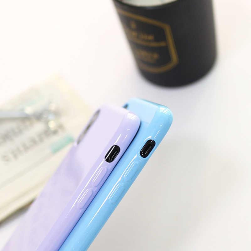 Carcasa para iPhone 6S de silicona suave de lujo 6S 7 7S 8 Plus 5 5S 5SE iPhone X 10 6Plus 6SPlus 7Plus 8 Plus cubierta del brillo del teléfono celular TPU