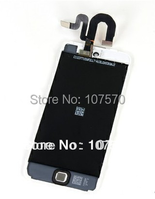 ФОТО Hot sale Original LCD with Touch Screen Digitizer Assembly For ipod touch  5  free shipping by DHL