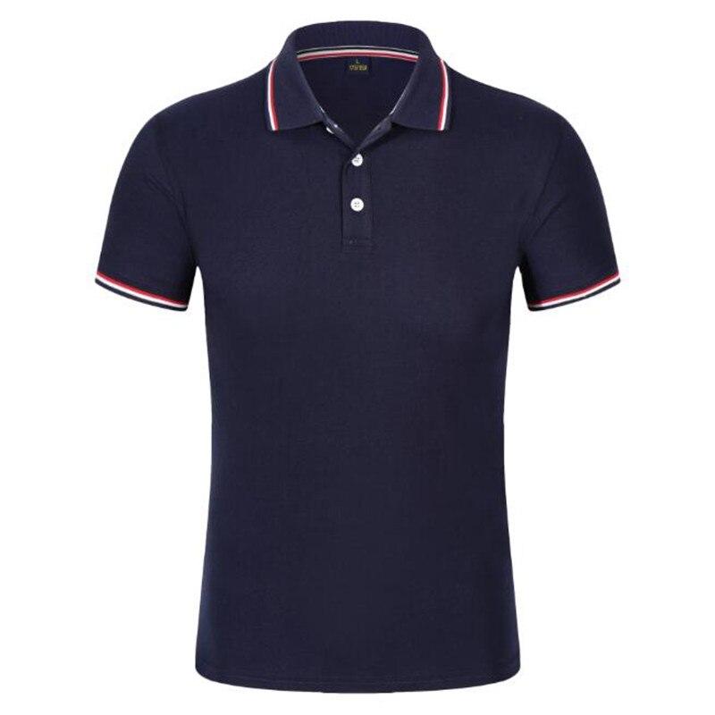 Polos   Hombre 2019 High Quality Stripe   Polo   Shirts Men Cotton Short Sleeve Golf Tennis Jerseys Summer Business Black   Polo   Tops