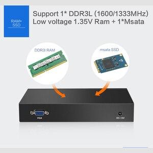 Image 5 - מיני מחשב Intel Celeron N2830 חומת אש נתב 4 LAN Intel i211AT Gigabit Ethernet RJ45 VGA 2 1xusb Windows שרת לרוץ pfsense