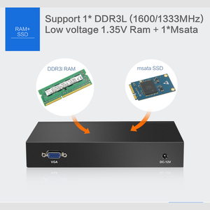 Image 5 - Mini PC Intel Celeron N2830 Firewall Router 4 LAN Intel i211AT Gigabit Ethernet RJ45 VGA 2xUSB Windows Server Run Pfsense