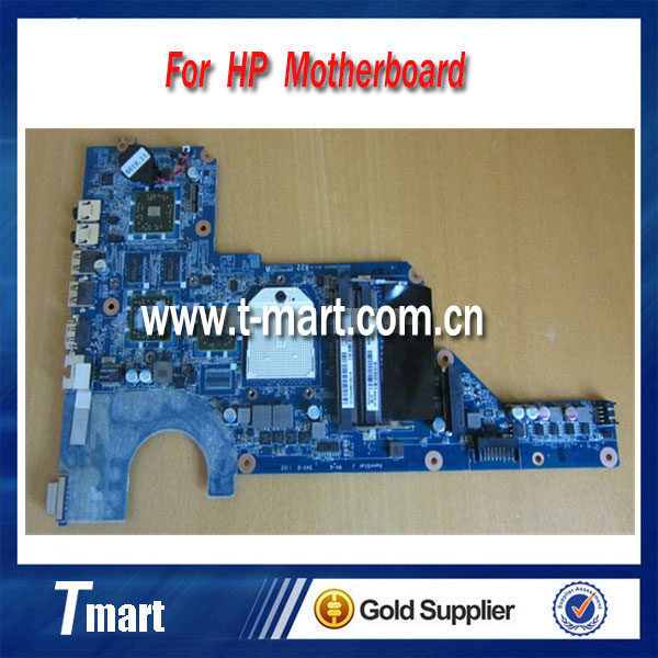 ФОТО for hp G4 G6 G7 647626-001 laptop motherboard AMD non-integrated with 4 video chips working well and  full tested