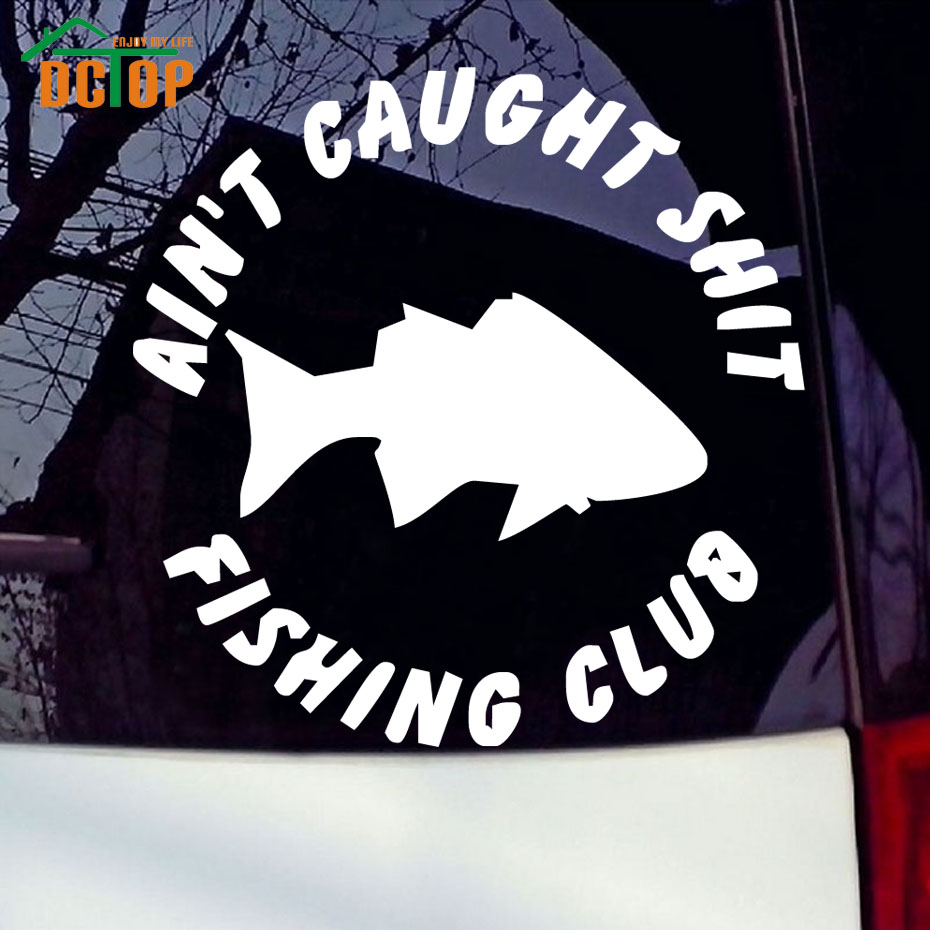 Car stickers design in coimbatore - Car Club Sticker Designs Fishing Club Logo Funny Bumper Car Stickers Waterproof Vinyl Removable Window