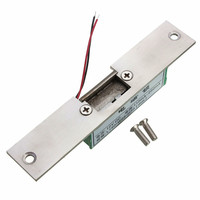 NEW Stainless Door 12V DC Fail Safe NO Narrow Type Door Electric Strike Lock For Access