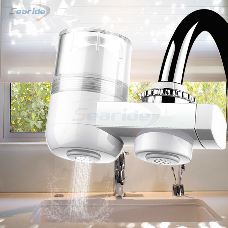 Água da cozinha pré-filtro purificador de água doméstico remover contaminantes de água alcalina gerador de íon de água para casa