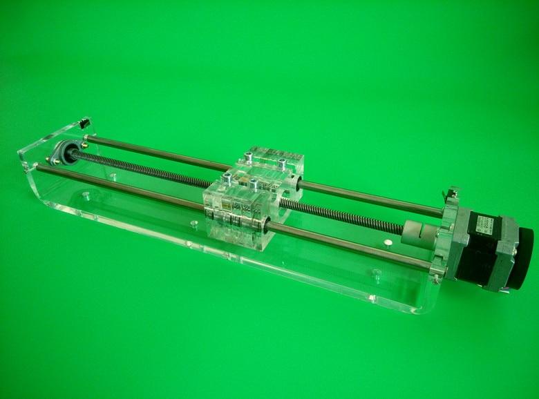 Z axis CNC linear slider Slide rail NEMA17 stepper motor effective stroke 100-300mm TR8x8 lead screw