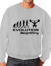 Evolution Of Weightlifting Funny Adult Sweatshirt Jumper Birthday Gift More Size and Color-E161